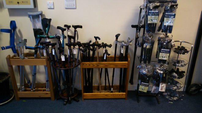 Med-Ecosse Walking Sticks & Crutches